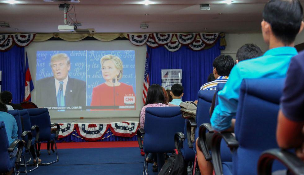 Debata Clinton-Trump